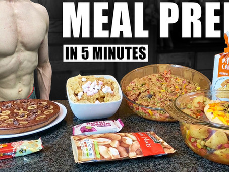 meal prep for muscle gain