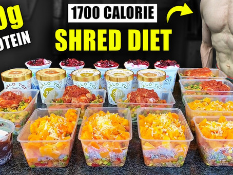 1700 calorie extra high protein meal prep for fat loss
