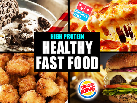 4 high protein fast food recipes