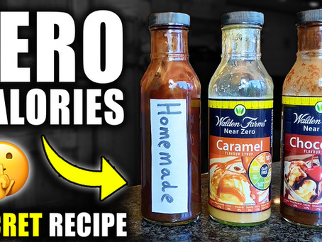 how to make homemade walden farms zero calorie syrup