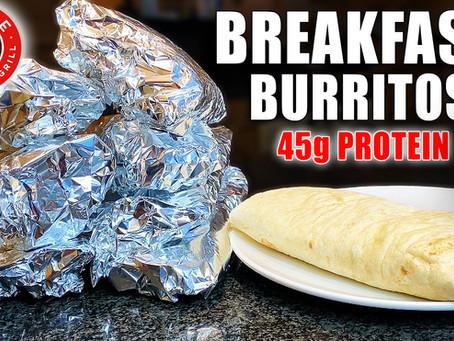 BREAKFAST BURRITO MEAL PREP | FREEZER BURRITOS FOR AN ENTIRE WEEK!