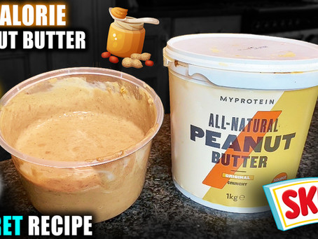 how to make low calorie peanut butter