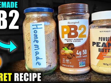 how to make homemade pb2 peanut butter powder