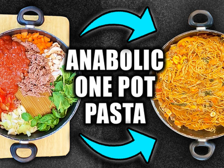 anabolic one pot spaghetti bolognese