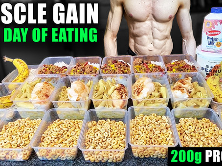 easy muscle gain diet for busy people