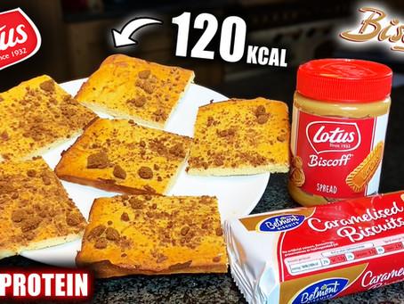 biscoff protein brownie recipe