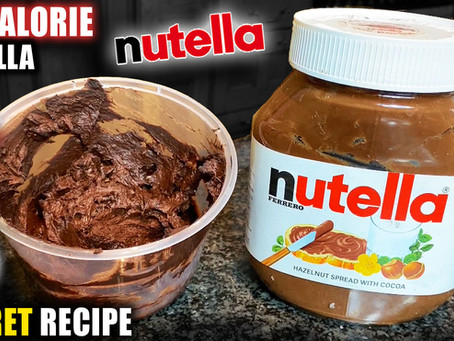 how to make low calorie Nutella