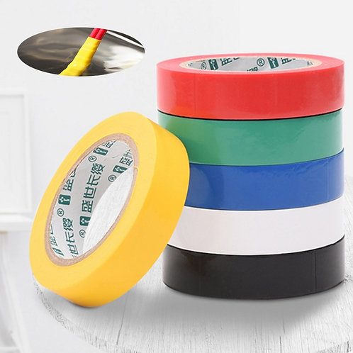 10m/15m Wire Flame Retardant Electrical Insulation Tape