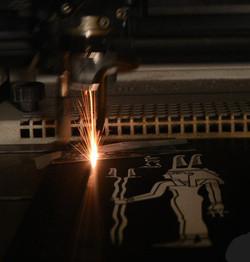 Gravure laser sur ardoise unique