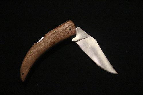 Couteau Rustique pliable. Première gravure simple offerte