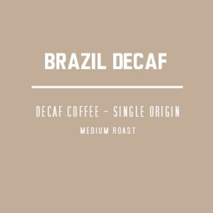 Brazilian Decaf