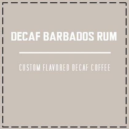 DECAF Barbados Rum
