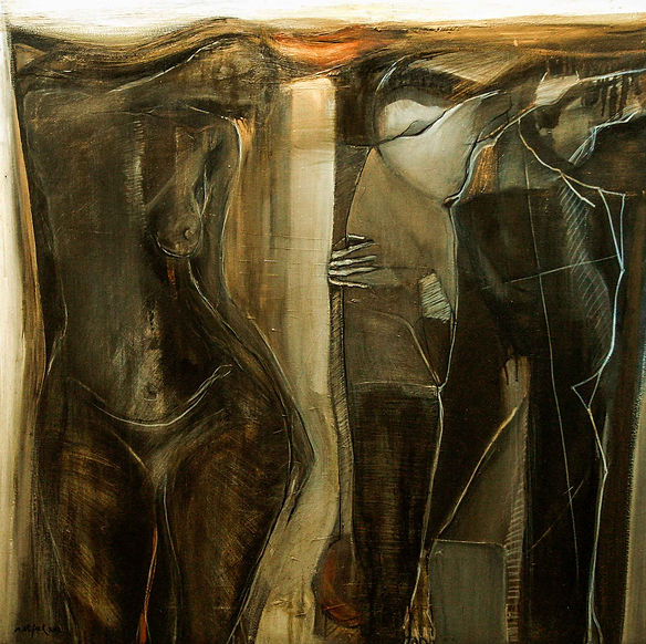 120 x120 cm - oil on canvas- 2012- sold