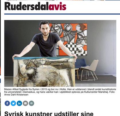 'Rudersdal-Newspaper- Denmark