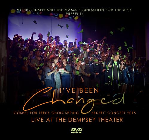 """""""I've Been Changed"""" Gospel For Teens Benifit Concert"""