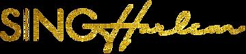 SING Harlem Choir Logo Line Gold 2019.pn