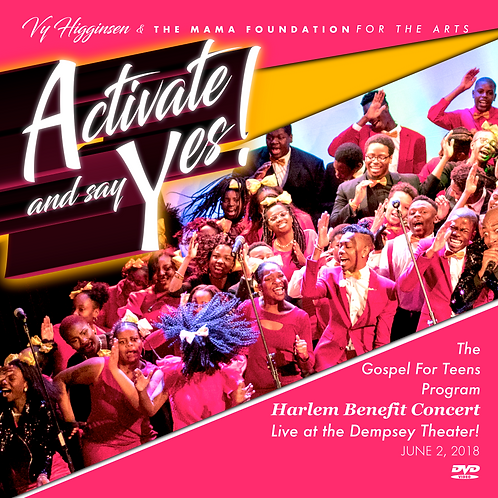 """Activate and say Yes!"" Gospel For Teens Benifit Concert"