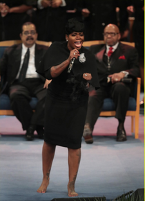 Fantasia Performs Musical Tribute for Aretha Franklin Funeral
