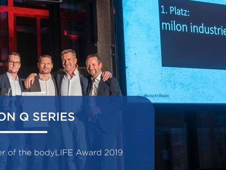 milon has won the world renowned 2019 body LIFE Award in the main category: Strength Equipment