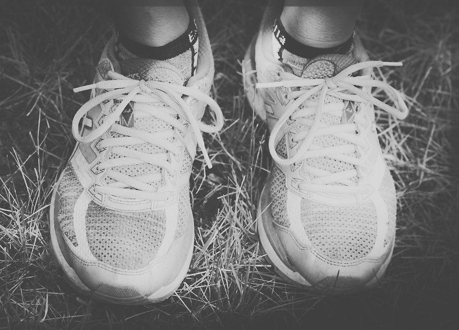 Georgie Islip's Asics Running shoes