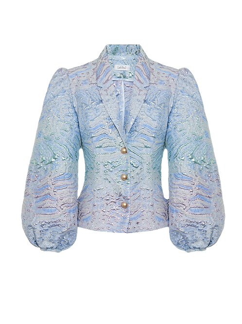Mermaid blue jacket
