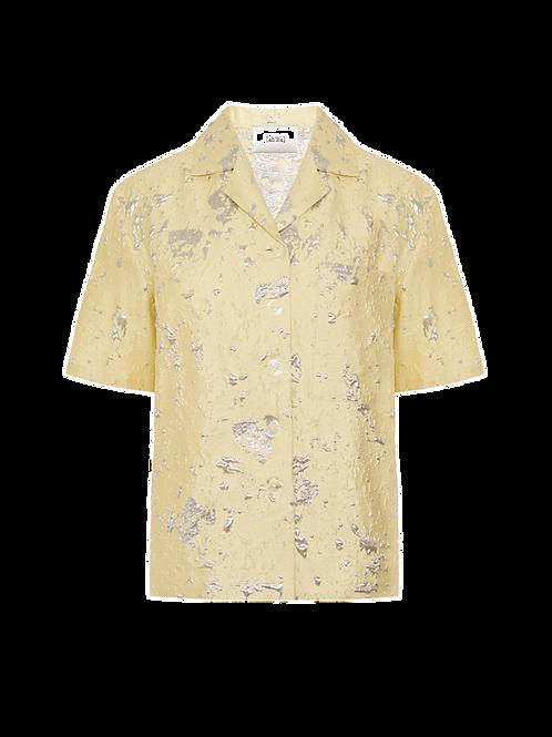 Silver lemon shirt