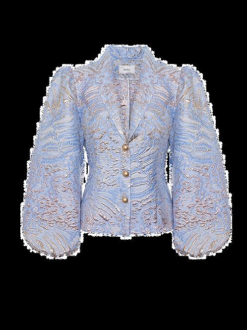 Mermaid blue gold jacket