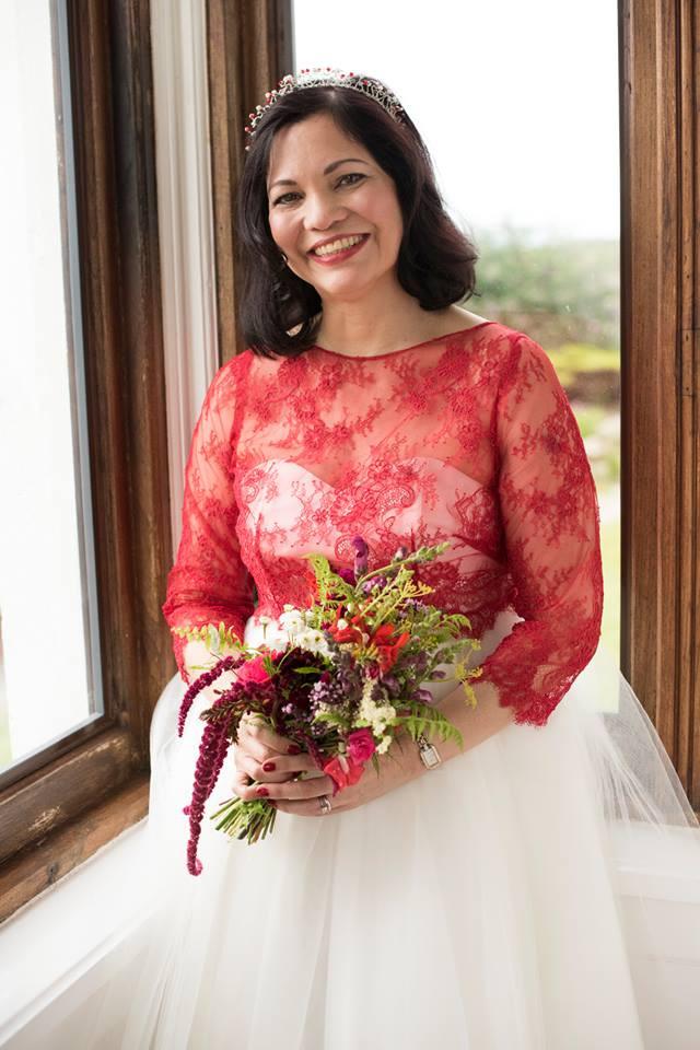 Calf length wedding dress, Knee length wedding dress