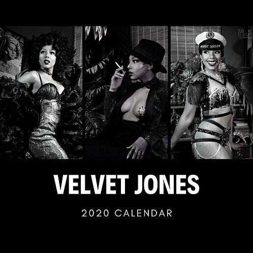 Velvet Jones Calendar Signed