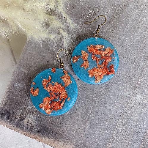 The Copper Blues  Earrings