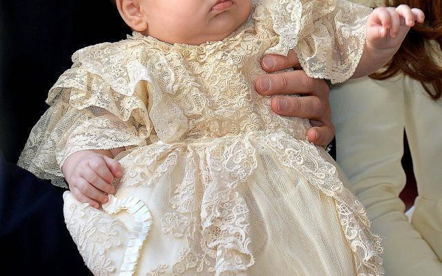 Prince Louis' Christening creating a buzz amongst the fashion community.