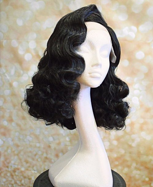 Hollywood Waves Wig (made to order)