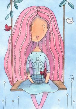 Иллюстрация авторской куклы
