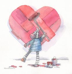 Рисуя любовь