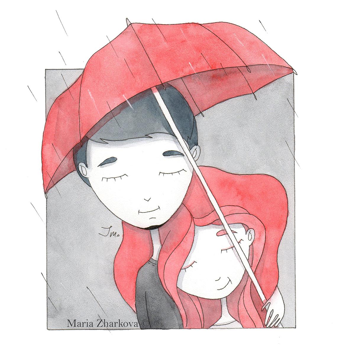 С тобой не страшен даже дождь