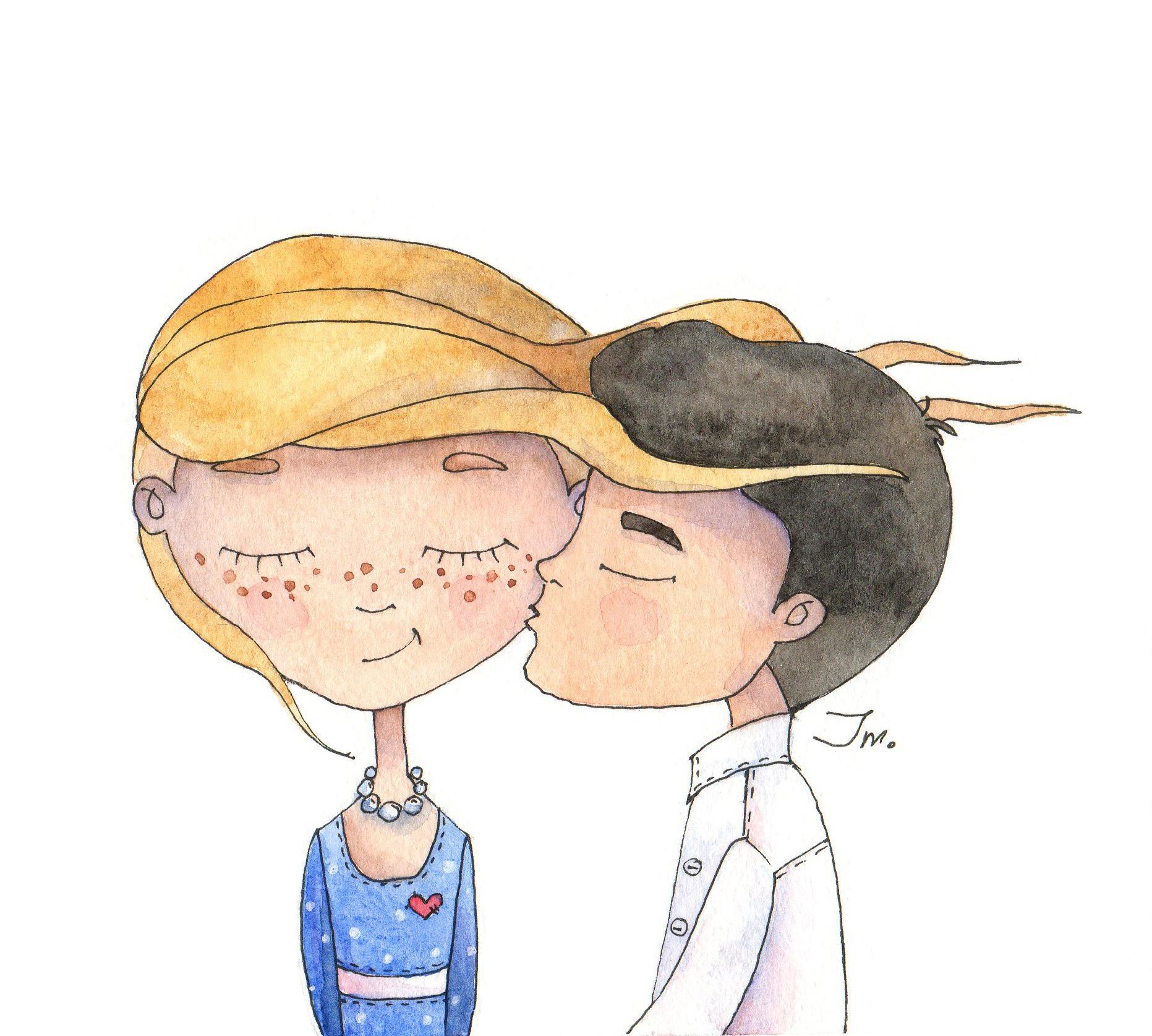 Поцелуй украдкой...