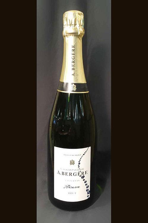 Champagne A. Bergère Réserve