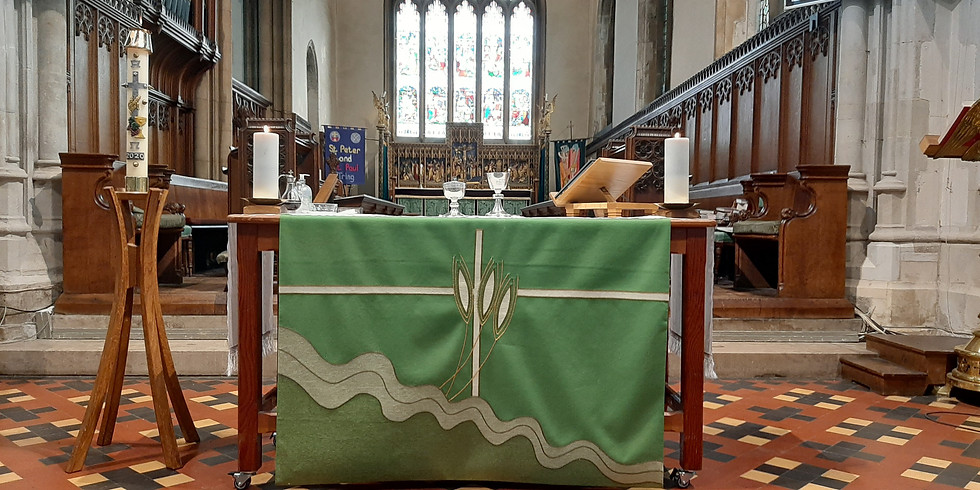 9.15 am Tuesday Holy Communion at Tring
