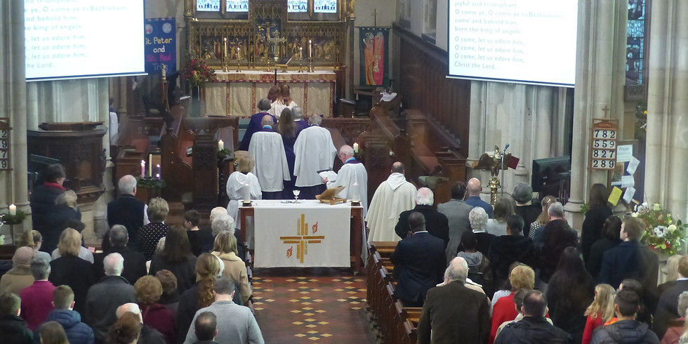 12 noon Christmas Day Communion at Tring