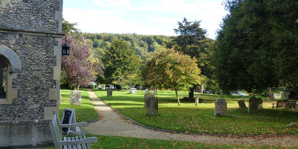 Aldbury Churchyard Gardening & Curry