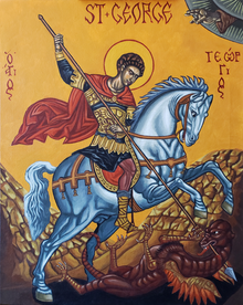 Icon of St George the Triumphant
