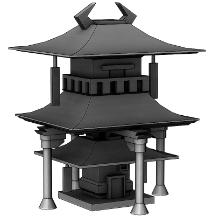 Worshiper's Hab Building 1