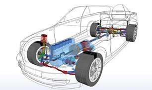 SIMPACK Automobile Dynamique Véhicule