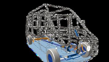 Simpack Automobile Simulation Multi-corps