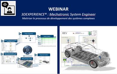 Webinar: Découvrez l'ingénierie système dans la 3DExperience !