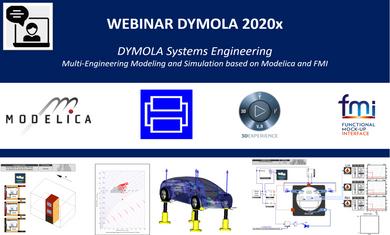 Webinar Dymola 2020x – La nouvelle version de Dymola vient de sortir !