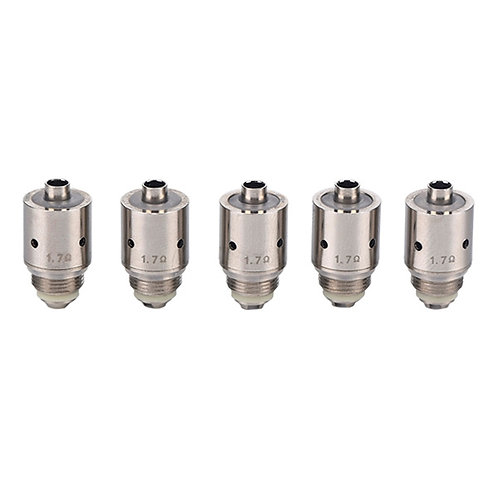 5 Pcs Replacement 1.7Ohm Core Coil Head BEC Cannon