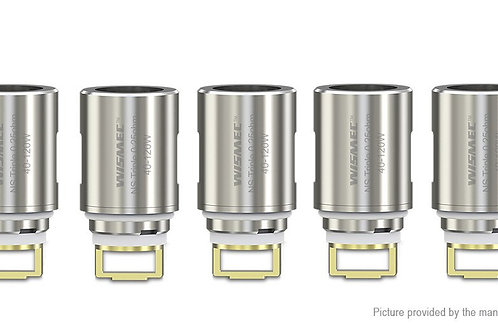 Wismec Elabo Replacement NS Triple Coil Head (5-Pack) 0.25ohm (40-120W)