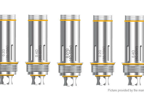 Aspire Cleito Replacement Coil Head (5-Pack) 0.4ohm (40-55W)