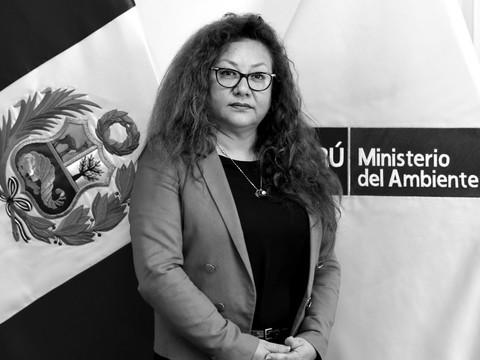 Kirla Echegaray Alfaro - Ministra del Ministerio del Ambiente